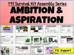 Ambition + Aspiration Y11 Survival Kit