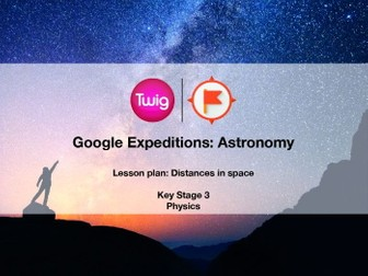Google Expeditions lesson plan: Astronomy