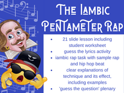 Iambic Pentameter Rap Full Lesson