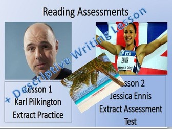 Reading Assessment Lessons and Descriptive Writing
