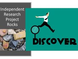 Independent Research  Project template - rocks - differentiation tool -revised