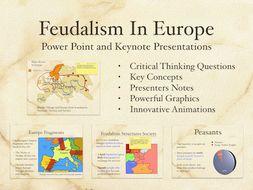Feudalism In Europe Power Point and Keynote Presentation