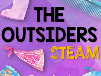 The Outsiders STEAM: Product Re-branding