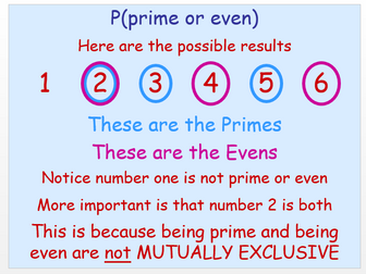 Probability - Mutual exclusive, addition rule, binomial and tree diagrams