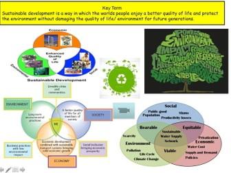 Sustainable Development and Climate Change - GCSE