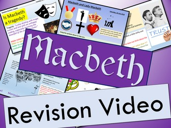 Macbeth Key Quote Posters