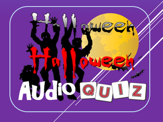Halloween 2017: Scary Sounds of Halloween Quiz