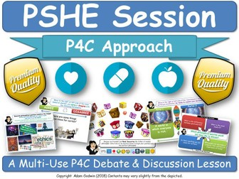 Emotional Well-being & Mental Health PSHE Session [P4C Approach] (PSHE, P4C) (Depression, Anxiety)
