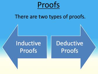 AQA Religious Studies A Level Philosophy - Types of Proofs