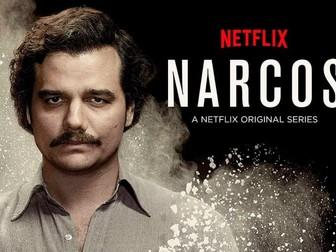 Pablo Escobar: un asesino e icono de ficción.