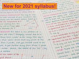 IB Maths AI SL - Topic 3 Geometry Notes