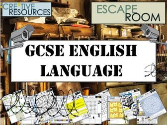 GCSE English Language Escape Room
