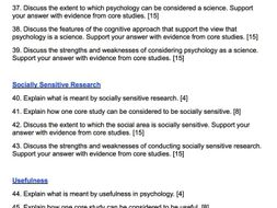 what is a research study in psychology