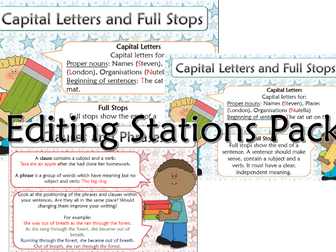 Editable Editing Stations pack