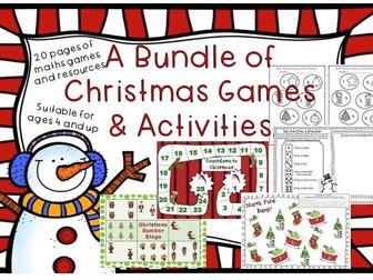 Christmas Maths Games