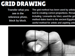 Art Grid Drawing, Enlarging, Reduction 55 worksheets/ Cover Big Bundle
