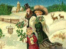 Victorian Christmas PPT and Victorian-Christmas-Quiz