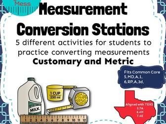 Converting Measurement Stations
