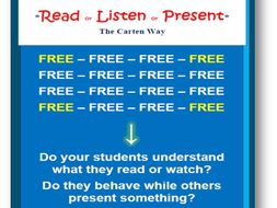 Read or Listen or Present for FREE