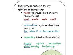 KS2 Rainforest Poster Resources - The Great Kapok Tree