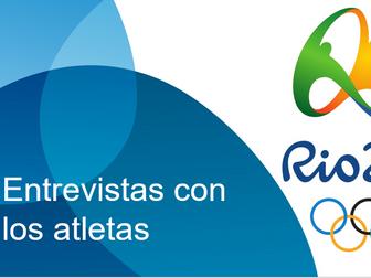 Entrevistas con los atletas olímpicos (Interviews with Olympic Athletes)