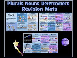 Plurals, Nouns, Pronouns and Determiners Revision Mats