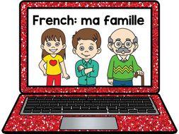 French Presentation: Family la famille