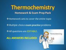 thermochemistry homework sets w answers and sample test questions lab worksheet by. Black Bedroom Furniture Sets. Home Design Ideas