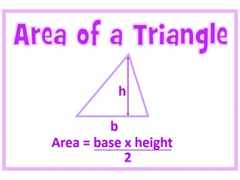 GCSE Maths Formula Posters