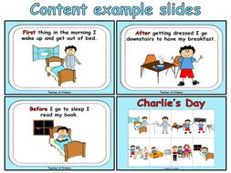 Sequencing Events - Charlie's Day by Online_Teaching ...