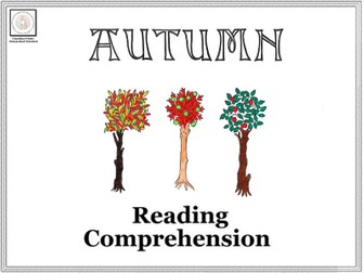 Autumn: A Reading Comprehension Collection