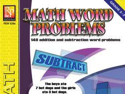 Math Word Problems (Grades 2-3)