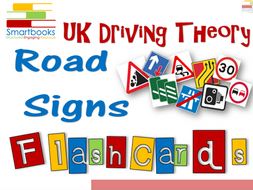 FLASHCARDS Series - Driving Theory ROAD SIGNS Vol 1