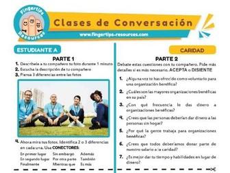 Caridad - Spanish Speaking Activity