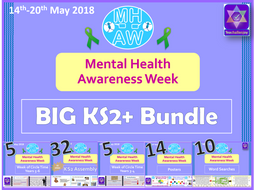 Mental Health Awareness Week 2018 BIG KS2 Bundle