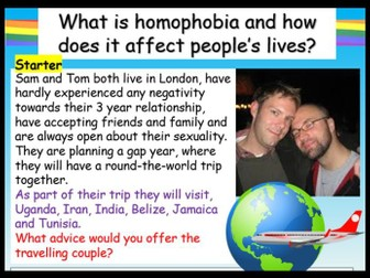 LGBT: Homophobia + Gay Relationships