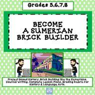Sumerian Brick Building (Grades 5-8)