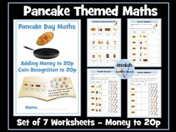 Pancake Day Maths - Money