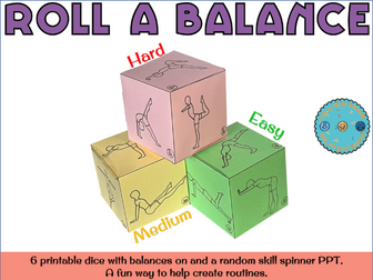 Roll a balance for individual routines