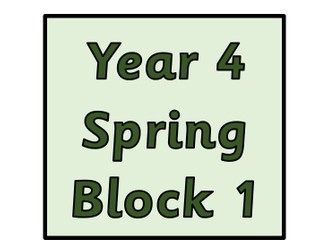 Year 4 - Spring Block 1 Multiplication and Division (Block 5)
