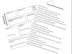 Physics Revision Mats & Questions (AQA)