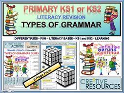 Primary Literacy Grammar Revision KS1 and KS2