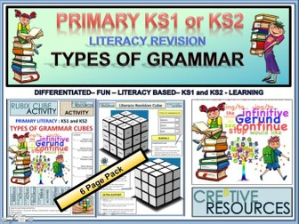 Primary Literacy Grammar Revision KS1 and KS2