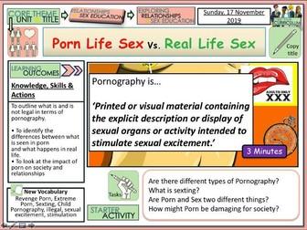 Porn Sex Life Vs. Real Sex Life