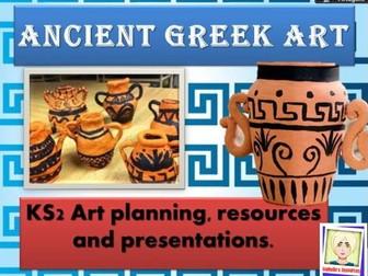 Art  scheme of work - Ancient Greece - Clay Pots