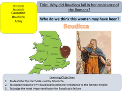 Year 7: Why did Boudicca's revolt fail? (Lesson 5)