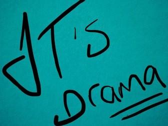 Woman in Black Classroom Display - Play, GCSE, English, OCR Drama