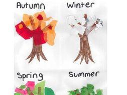 Science Planning-EYFS seasons