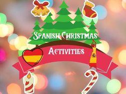 Spanish Christmas Activities Navidad
