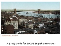 A VIEW FROM THE BRIDGE FULL STUDY GUIDE